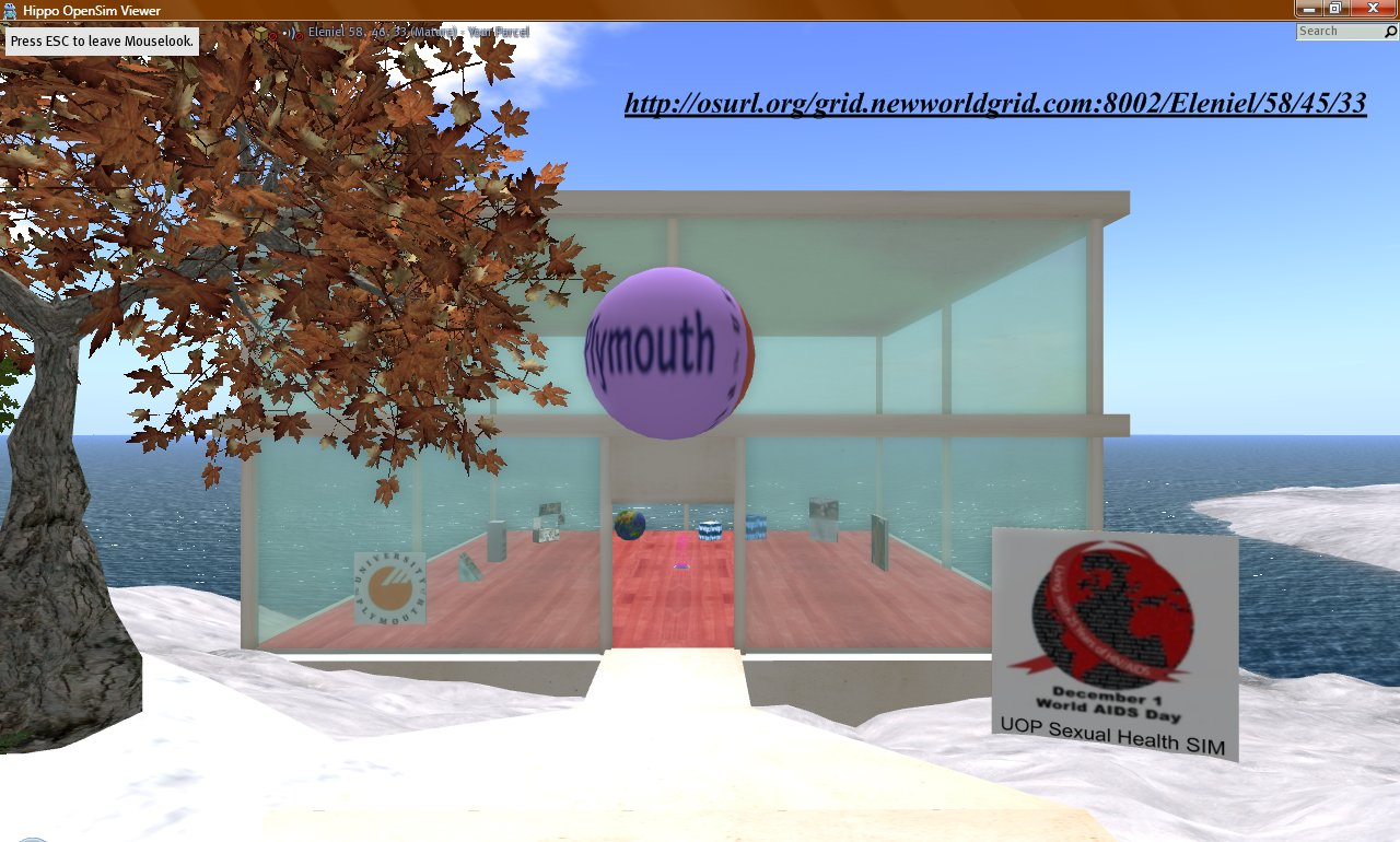 A Sexual Health SIM in Second Life® (University of Plymouth)